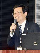 佐賀の未来考える契機に 維新博・脇山事務局長が講演