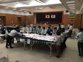 開票が進む吉野ヶ里町長・町議選