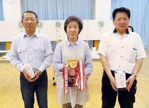 佐賀ヤマトスポーツ吹矢クラブ4月例会の上位入賞者