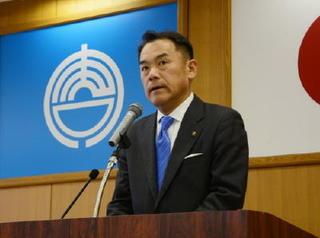 峰・唐津市長「市民第一の市政を」