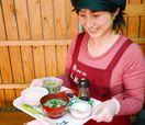 新米にたまごかけ 道の駅鹿島で朝ご飯