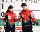 前回優勝の松村、谷田組が敗れる