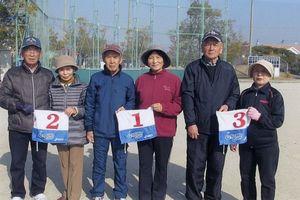 県高齢者大学佐賀校16期会GG例会の上位入賞者