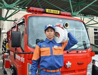 若手団員からひとこと(20)吉野ヶ里町消防団本部分団本部・中新田雅斗さん