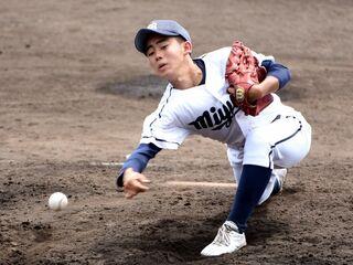 <高校野球>三養基1年、田中聖力投実らず