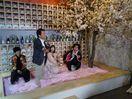 桜のプールで佐賀の地酒 東京 インスタ映え、知事らPR