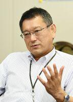 金融教育の重要性について語る日本銀行佐賀事務所の蔵本雅史所長