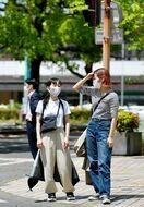 佐賀、白石で29・4度 7月上旬並みの暑さ