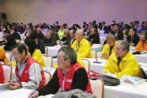 九州各県から集まった観光ボランティアガイドたち