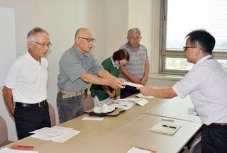 玄海原発事故時の避難体制充実要望 県に唐津の2団体