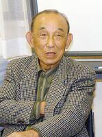 楠田久男氏(2003年撮影)