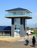 10月20日にオープンする東よか干潟ビジターセンター=佐賀市東与賀町