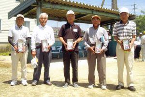 第2回チヨダスポーツ杯GG大会の上位入賞者