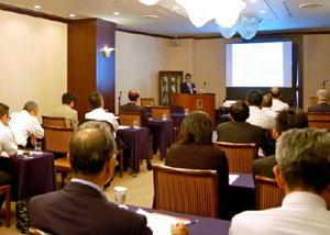 発足から260回目の例会を迎えた二水会=福岡市の西鉄グランドホテル