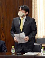法務委員会で、不妊治療の助成について政府の考えをただした山下参院議員=東京・永田町の参議院
