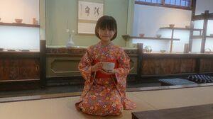 「舞踊と茶道をずっと続けたい」と話す井上千可さん