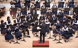 <さが総文>21団体演奏披露 吹奏楽部門のプレ大会