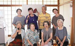 〈笑顔いっぱい〉老人会カラオケサークル「中園会」(唐津市相知町)
