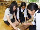 上峰中、韓国中高生と国際交流