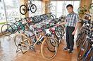 <ピックアップ>自転車 軽快なクロスバイク人気