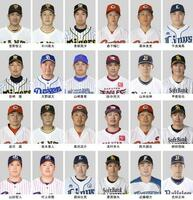 東京五輪の野球日本代表選手