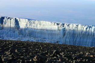 アフリカ氷河、消滅見通し