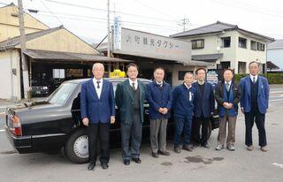 <佐賀豪雨 ReSTART>大町町の大町観光タクシー 前向き「あとは上るだけ」