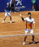 男子テニス、錦織組は1回戦敗退