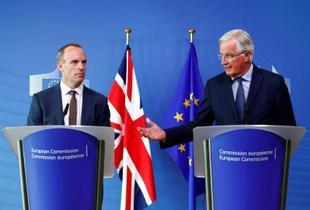 英のEU離脱、交渉「最終段階」