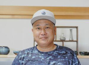 田中良幸さん=梵良窯