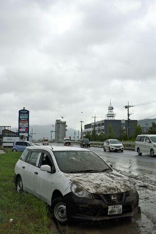 <佐賀豪雨から半年>車の水没どう対応