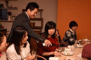 日本酒とイタリア料理の女性限定企画好評 窓乃梅酒造