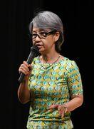 介護と家族の関係語る ジャズシンガー綾戸智恵さん講演