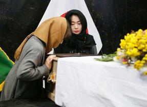 中村哲さんの妻ら遺体と対面