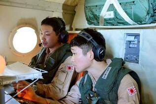 海自哨戒機部隊、中東で活動開始
