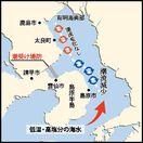 堤防閉め切りが有明海奥部の貧酸素化に影響
