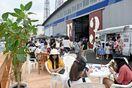 カフェや乗船体験海満喫 「唐津港まつり」にぎわう