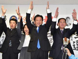 <知事選>山口氏「国策課題と対峙」