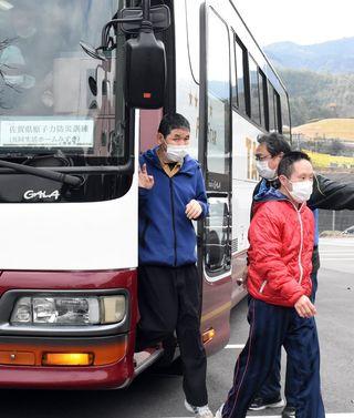 <県原子力防災訓練>障害者施設 運転手の確保課題