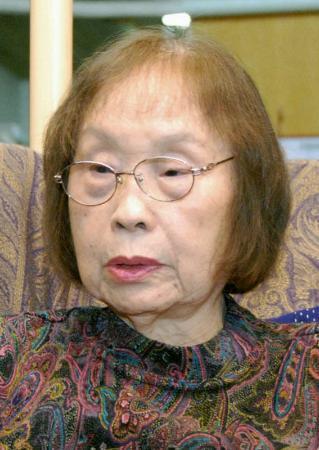 作家の石牟礼道子さんが死去