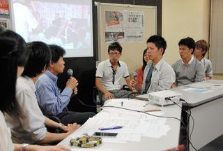 <平成 この日、>学生団体が選挙特番放送=平成25年7月21日(5年前)