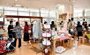 佐賀玉屋1階にオープンした「私の部屋」。九州では唯一の店舗で、約1800点の雑貨をそろえている=佐賀市の同店