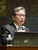 「経営者には耳、口、顔必要」 作家・江上剛さん講演