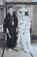 東京で結婚式を挙げた2人。「当時は寺を継ぐことになるとは想像していなかった」という