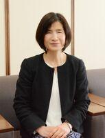 吉野ヶ里町初の女性副町長に就任した中島武子さん=吉野ヶ里町役場