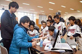 佐賀のニュース 「野球肘」早期発見しよう