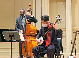 ジャズ巨匠と三味線コラボ