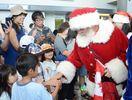 サンタが佐賀にやってきた 世界8カ国から空路で