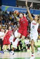 女子バスケの吉田亜沙美が引退