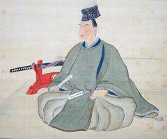 草場佩川筆 多久茂澄肖像画(多久市郷土資料館蔵)